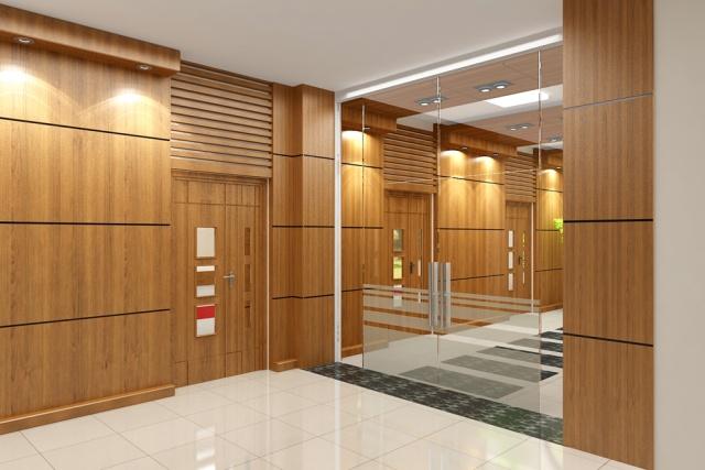 Cách thiết kế vách ngăn văn phòng bằng gỗ đẹp mê ly
