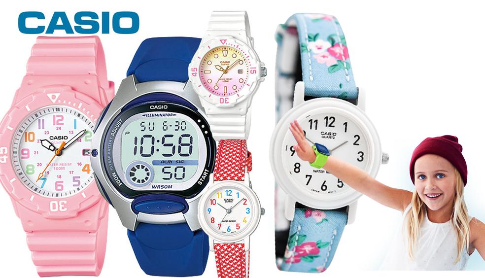 Tìm hiểu về đồng hồ cho bé gái Casio chính hãng