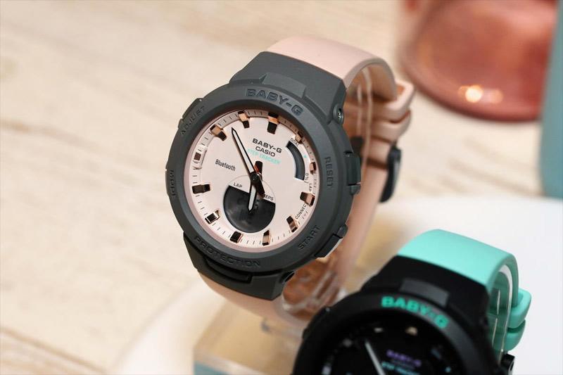 Giải đáp các thắc mắc về đồng hồ Casio dây nhựa   BSA-B100MC-4ADR
